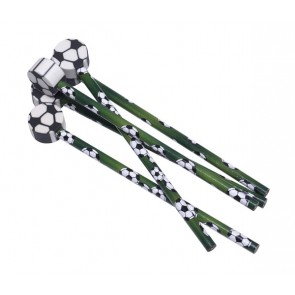 Football Pencil with Eraser Party Bag Filler