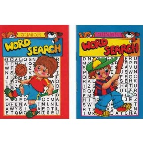 Boys Junior Word Search book Party Bag Filler