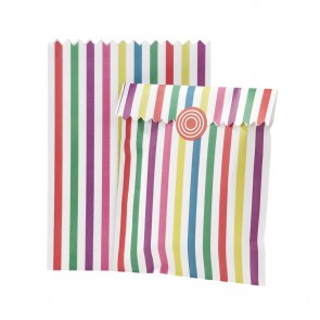 Multicoloured Paper Treat Bags
