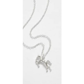 Necklace with Horse Pendant