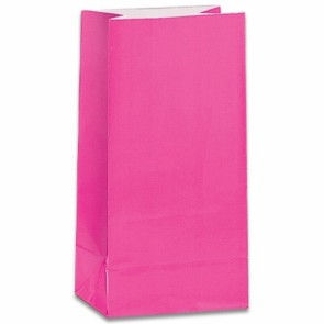 Hot Pink Party Bags