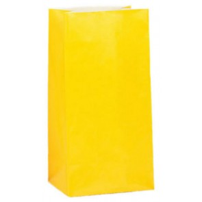 Yellow Party Bags