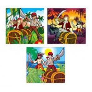 Pirate Jigsaw Party Bag Filler