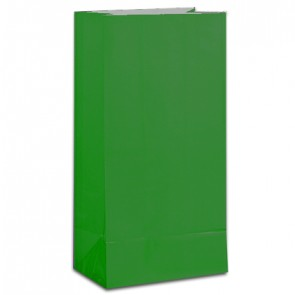 Dark Green Party Bags