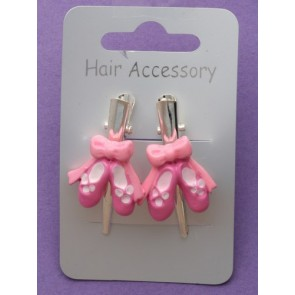 Ballet Shoe Beak Hair Clips