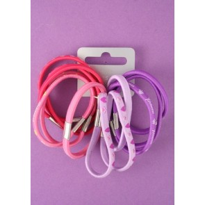 Pink and Purple Hair bands