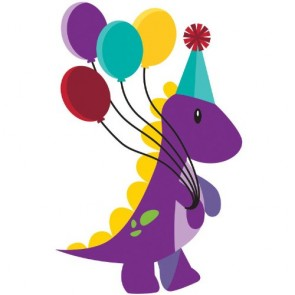 Little Dino Party Cello Loot Bags