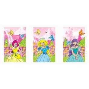 Princess Mini Notepad Party Bag Filler