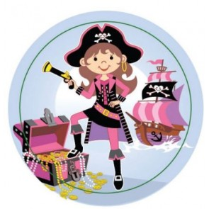 Pink Pirate Maze Puzzle Party Bag Filler