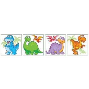 Dinosaur Temporary Tattoos Party Bag Filler