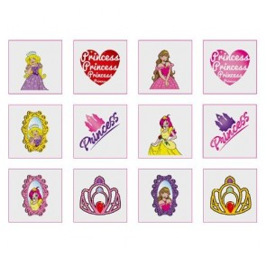 Princess Tattoo Party Bag Filler