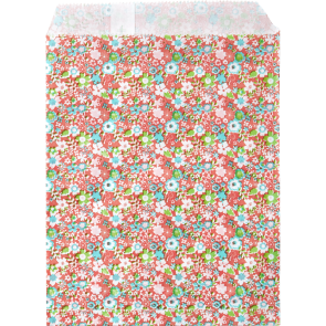 20 Paper Sandwich Or Candy Bags In Pink