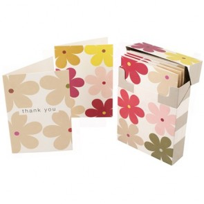 Caroline Gardner Daisy Small Notelet Set