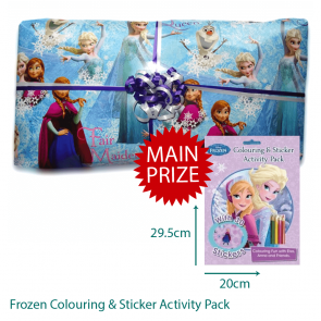 Disney Frozen Pass The Parcel - Parcel And Main Prize