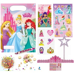 Disney Princess pre filled party bag - contents