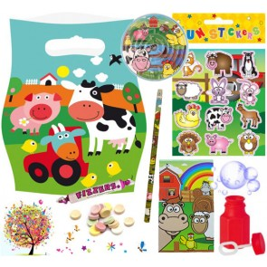 Farm pre filled party bag - contents