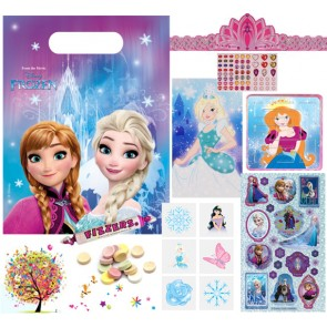 Disney Frozen pre filled party bag - contents
