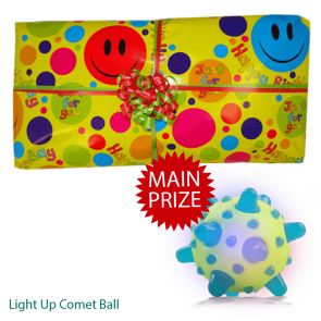 Fun Gift Option 1 Pass The Parcel - Parcel And Main Prize