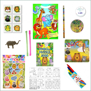 Jungle Party Bag - Just Fill Ready to Make