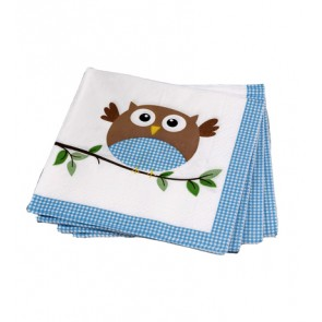 Little Owl Boy Party Napkins
