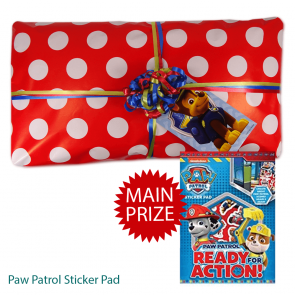 Paw Patrol Pass The Parcel And Main Prize