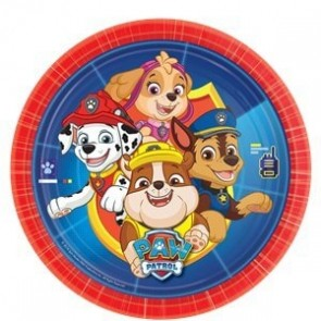 Paw Patrol Party Plate