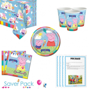 Peppa Pig Party Tableware Saver Pack