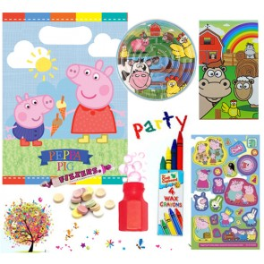 Peppa Pig pre filled party bag - contents