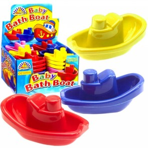 Plastic Bath Boat Toy