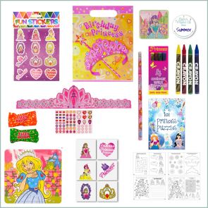 Princess Party Bag - Just Fill Ready to Make