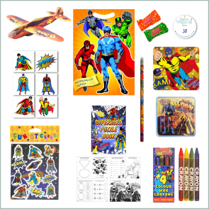 Superhero Party Bag - Just Fill Ready to Make
