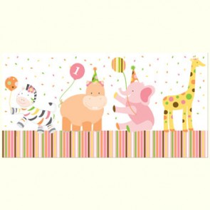 Sweet at 1 Girl Party Tablecover