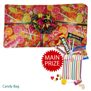 Sweet packed Pass the Parcel For Boys And Girls Main Prize