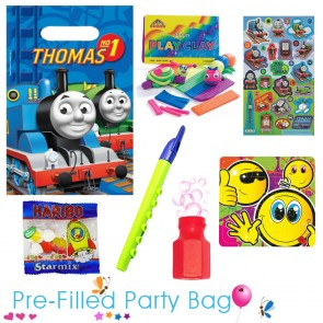 Thomas the Tank Engine Ready Made Pre Filled Party Bag