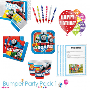 Thomas the Tank Engine Bumper Tableware Pack