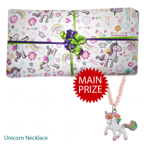 Unicorn pass the parcel Option 2 and Main Prize