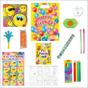 Unisex Fun Party Bag Option 2 - Just Fill Ready to Make