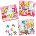 Jigsaw - Princess design card Jigsaw
