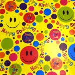 Smiles Gift Wrap - High Quality wrapping paper