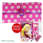 Pass the Parcel Ready Made Party Game - Barbie