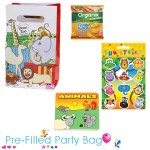 Pre Filled Ready Made Party Bag For Toddlers - Unisex Dear Zoo Option 1