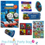 Pre Filled Ready Made Party Bag For Boys - Thomas The Tank Engine Option 1