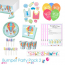 Up Up and Away Baby Shower Party Tableware Bumper Pack 2