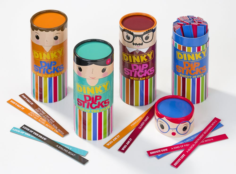 Dinky dipsticks party games