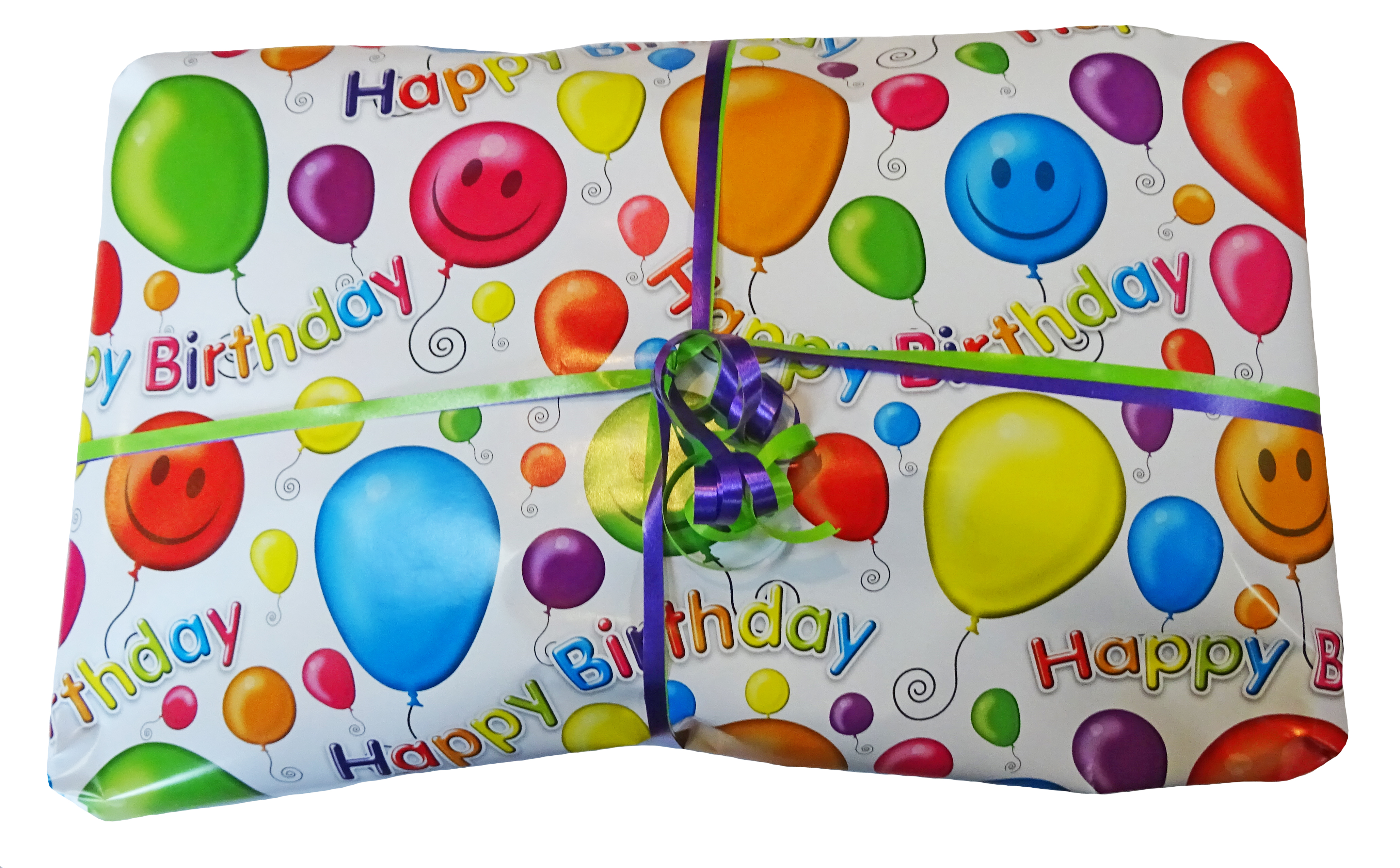 Fun Gift pre-wrapped pass the parcel outer layer