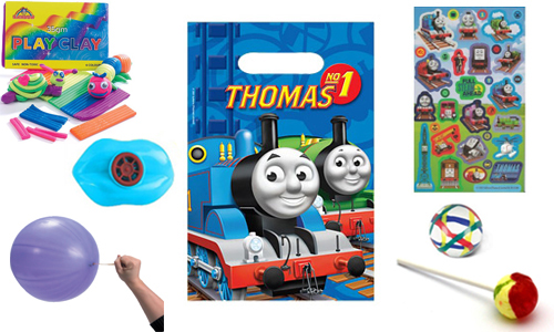 Thomas the Tank Engine themed party bag