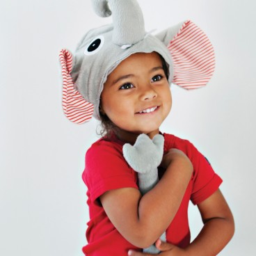 Elephant Hat & Tail Costume